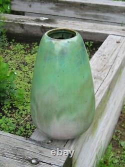 Large Hard to Find Fulper Vase MINT! Shape 574A 13 Nice Glaze