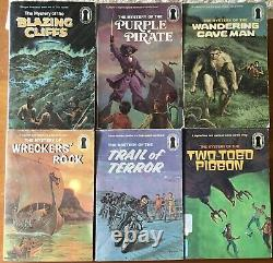 Large Lot 15 Hard To Find The Three Investigators Higher Numbers! Wreckers Rock