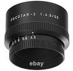 Leitz Wetzlar Focotar-2 enlarger lens 50mm f/4,5. Mint- Rare and hard to find