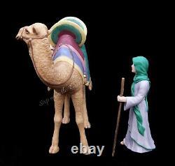Lenox China RENAISSANCE Nativity Camel & Driver Mint 1993 LtdEd Very Hard 2 Find