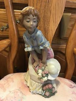 Lladro 3506 Dear Mint Condition! Gres Finish! No Box! Hard to find! L@@k