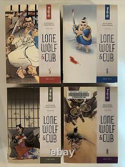 Lone Wolf & Cub Omnibus lot 1,2,3,4,5,6,7,8,10,11! Hard To Find Dark Horse Koike