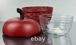 Longaberger Apple Basket Collectors Club Mint Condition! Hard To Find