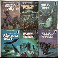 Lot 6 Hard To Find The Three Investigators Higher Numbers! Purple Pirate Rogues