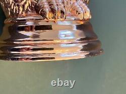 Lot Of (2) Pre-ownwed Hard To Find Absolut Vodka Elyx Copper Owls