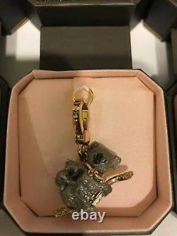 Lot Of 4 Juicy Couture Charms Hard To Find excellent Condition