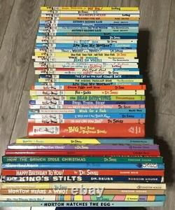 Lot Of 44 Dr Seuss Books All Hardcover Some Hard To Find