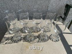 Lot Of 7 Imperial Candlewick Goblet Glass- Hard To Find