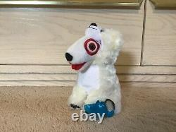 Lot of 10 Target Plush Bullseye Animal Theme Dogs. Contains Several Hard To Find