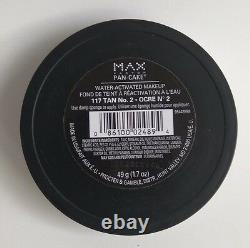 Lot of 3 Max Factor Pancake/Pan-cake #117 (Tan no. 2) Made in U. S. A. Hard to find