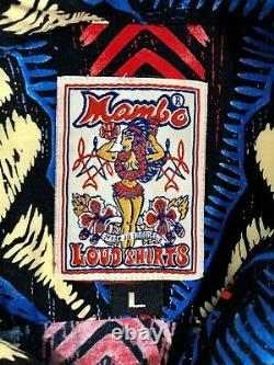 MAMBO LOUD SHIRT 1990s Vintage LARGE Mint Condition! RARE & HARD TO FIND