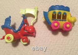 MINT Mattel 1969 Upsy Downsy KIDDLES Hard to Find WOW set of 6 with Accessories