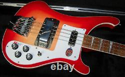 MINT! Rickenbacker 4003 Fire Glo 4-String Bass 100% Unplayed Hard to Find