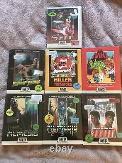 MVD Rewind Lot Of 7 Blurays With Slipcovers Factory Sealed hard to find