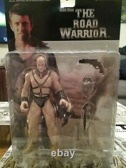 Mad Max, The Road Warrior(MIB) Lot Action Figure RARE (COMPLETE SET) Hard to find