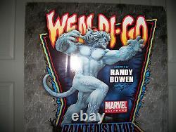 Marvel Bowen Designs Wendigo Statue Mint Condition Rare & Very Hard To Find