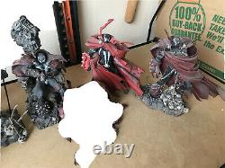 McFarlane Toys SPAWN loose Lot Of 5. Great Finds Low Price Hard To Find