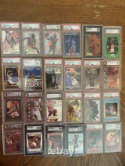 Michael Jordan (196) Card Lot Some Very Rare Hard To Find Hot Cards Hof