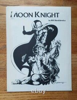 Moon Knight Vintage 1981 Bill Sienkiewicz Portfolio 1500 Made Hard To Find Mint
