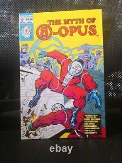 Myth of 8-opus comic lot 1 2 3 4 5 complete htf hard to find tom scioli kafabe