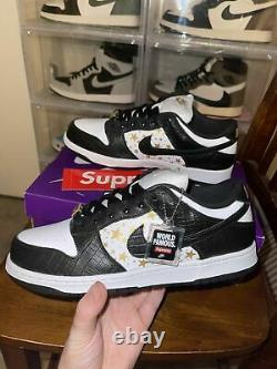 New Supreme x Nike SB Dunk Low World Famous TAGS Lot of 14 HARD TO FIND