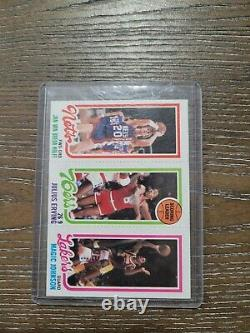 ONE OF A KIND Magic Johnson card lot! 15 cards. Including rookie & hard 2 find