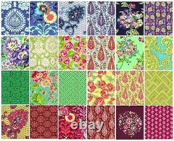 OOP & hard to find LOVE Fat Quarter Bundle 24 pcs By Amy Butler, Cotton Fabric