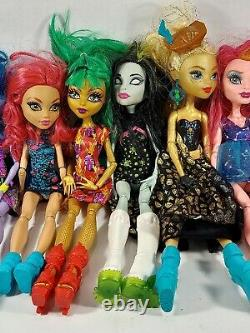 Original Monster High Dolls Lot Of 17 Accessories Rare Hard To Find Htf Wow