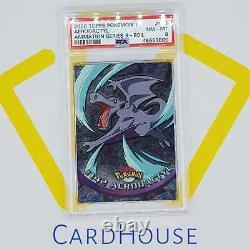 PSA 8 NM MINT Aerodactyl Topps Series 3 Hard to find 2000 Pokemon Holo Foil