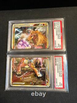 PSA 9 Entei Raikou Legend HGSS Unleashed Pokemon Card Set Rare Mint Hard To Find