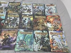 Pathfinder Book LOT 17 books plus extras mostly FIRST PRINT HARD TO FIND RARE