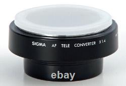 Pentax AF 1.4X Sigma 5 Element MultiCoated Teleconverter KAF Hard to Find MINT