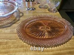 Pink Depression Glass Lot Many Hard to Find Pieces Great Lot