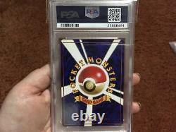 Pokemon Japanese Base Set Gem Mint Holo Raichu PSA 10 Hard To Find Vintage