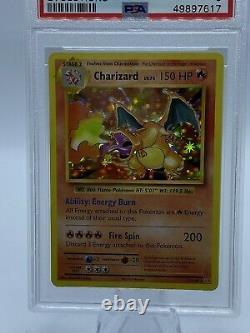 Pokemon PSA 9 Charizard 11/108 XY Evolutions Holo Mint 2016 Rare Hard Find NIS