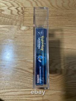 Pokemon Sapphire GBA VGA 85 Wata It Factory Sealed Near Mint- Hard To Find