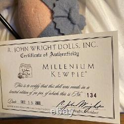 R. John Wright Millennium 2000 Kewpie New In Box Mint Hard To Find