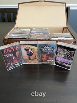 Rap Cassette Lot 90s Gangster Hard To Find Vintage Copies 2pac Biggie Outkast