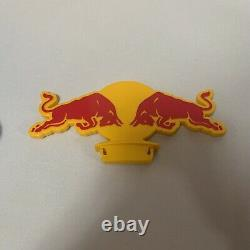 Red Bull Mini Fridge Gas Pump LED Mint Condition Rare Hard To Find 23 Inches