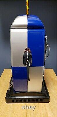 Red Bull Mini Gas Pump Fridge LED Mint Condition Rare Hard To Find New In Box