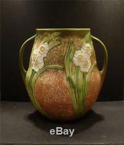 Roseville Jonquil Vase 530-10 MINT HARD TO FIND SHAPE
