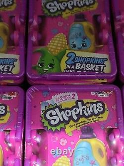 Shopkins SEASON 2 Blind Baskets LOT OF 30 RETIRED HARD TO FIND BRAND NEW SEALED
