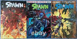 Spawn 256-270 Lot of 15 Low Print Run Variants Todd McFarlane Image Hard to Find
