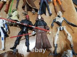 Star Wars Action Figures Including Hasbro HUGH LOT of Hard to find figures
