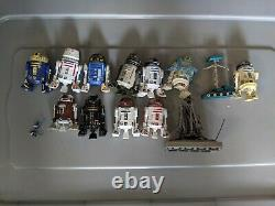 Star Wars Droids Astromech Figure Lot Rare And Hard To Find Figures