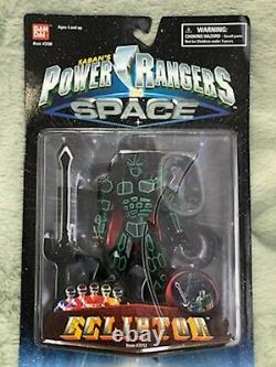 Super Rare 1998 Power Rangers in Space Ecliptor MINT Very Hard to Find in Box