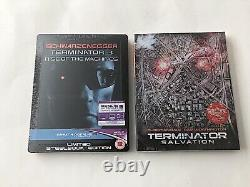 The Terminator Steelbook LOT Hard to Find! OOS/OOP Brand New & Factory Sealed
