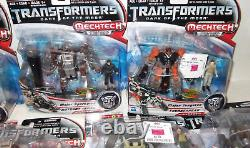 Transformers Mechtech LOT OF 6 HARD-TO-FIND Figures all SEALED noble sparkplug