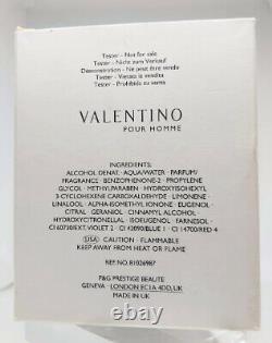 VALENTINO V MAN Eau de Toilette 3.4oz 100ml, very hard to find