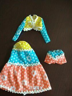 VINTAGE BARBIE MOD KITTY KAPERS #1062 Outfit RARE HARD TO FIND 3 PC Lot 1972